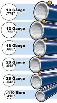 Gauge Bore Diameter Gunsopedia